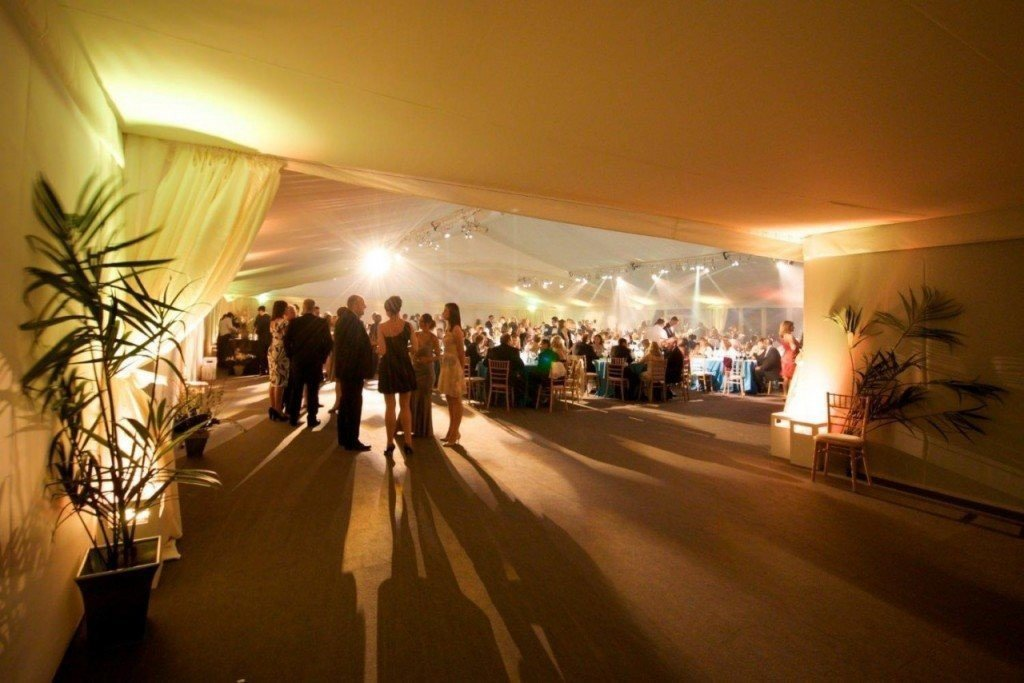 The Garden Room at Syon Park can accommodate up to 600 guests.