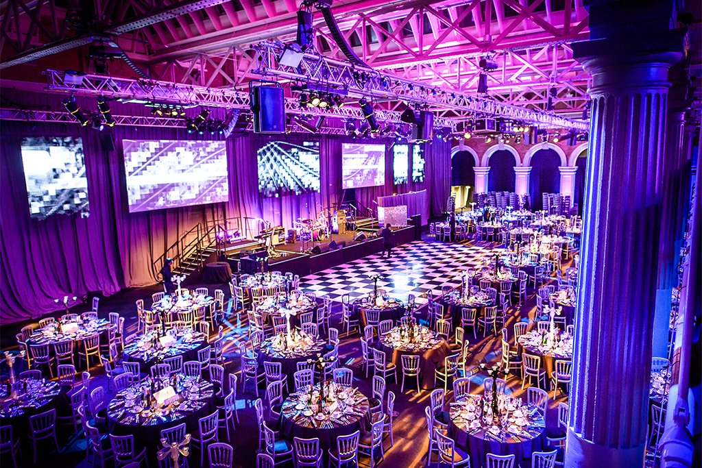 London awards ceremony venues