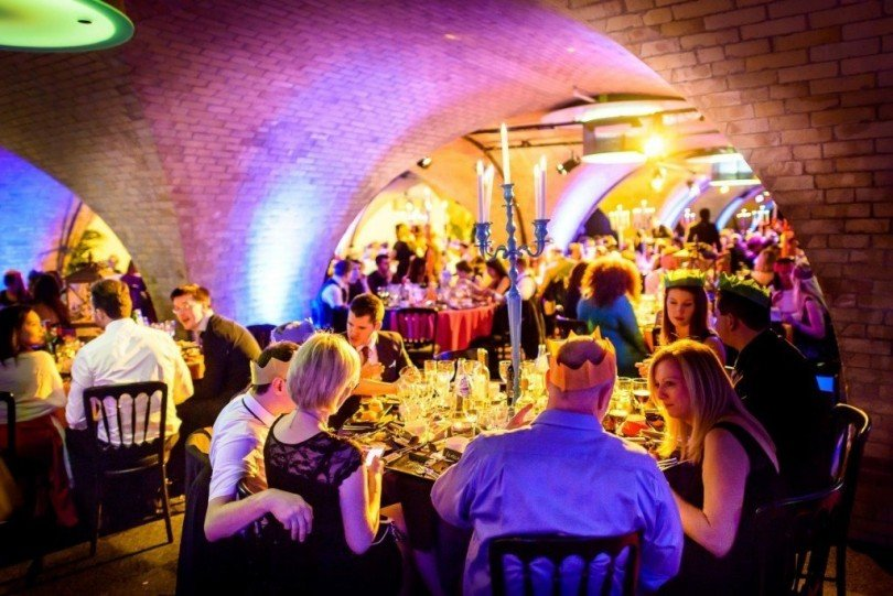 Christmas Party Ideas In London Part - 44: Christmas At Billingsgate Vaults