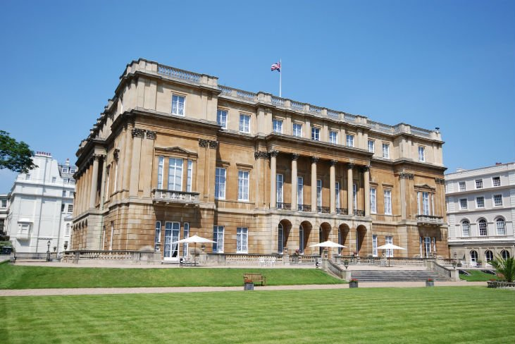 Outside image of the Lancaster House