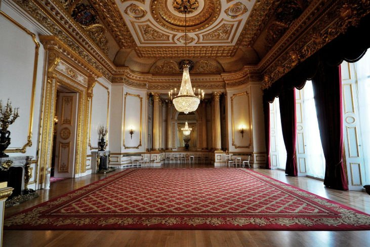 lancaster house interior, hall