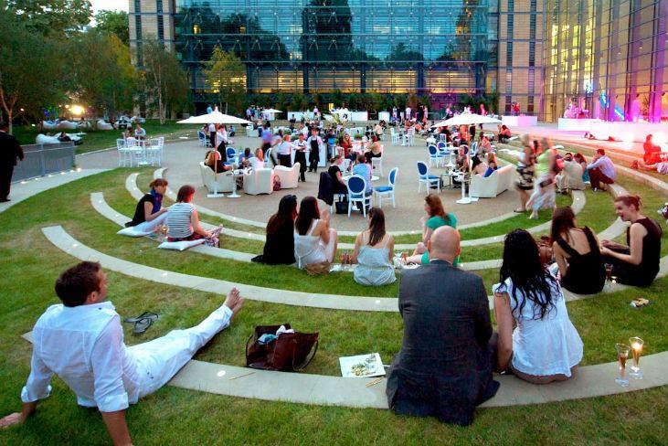 Outdoor summer events venues
