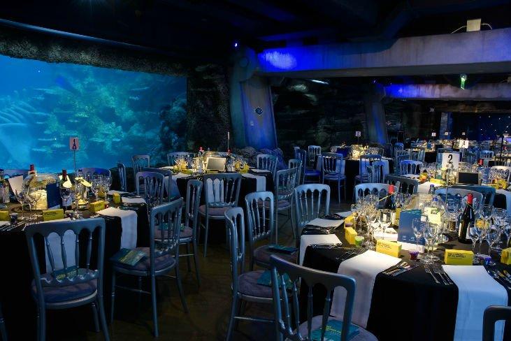 Sea Life London Aquarium Venue Hire Dinner Venue