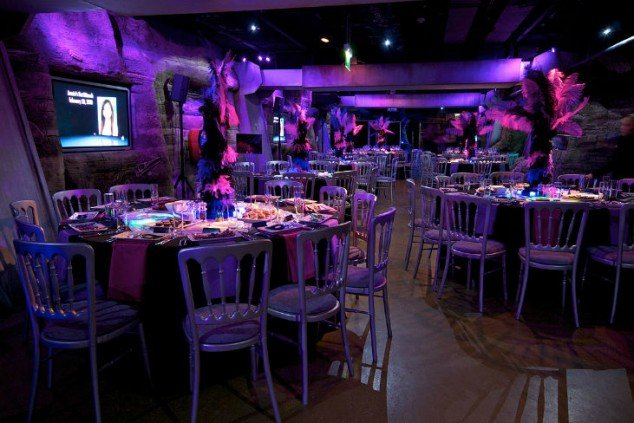 aquarium venue london