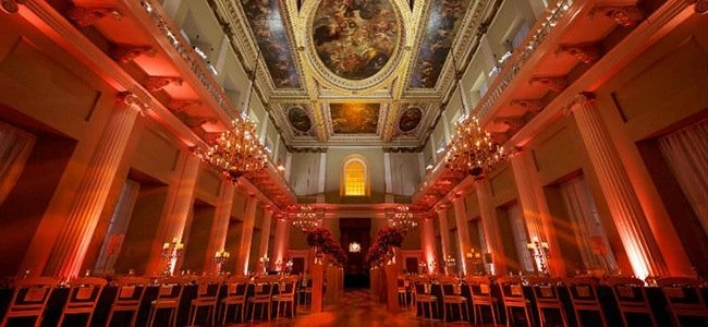 unique venues in London at Banqueting House