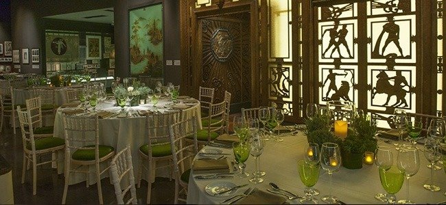 banqueting halls in east London in the Museum of London