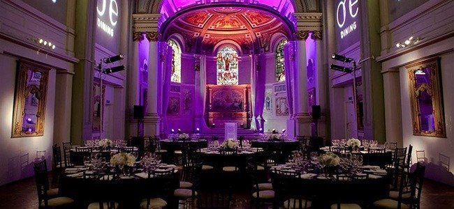the best banqueting halls in London at One Marylebone