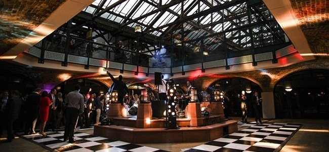 alternative venues in London at Tobacco Dock