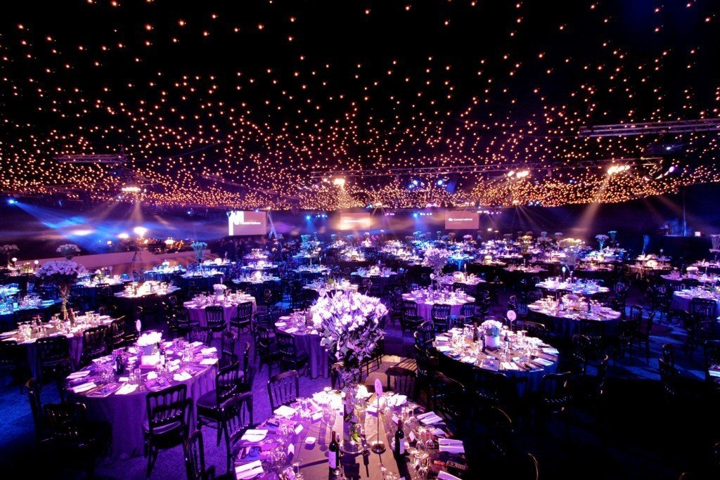 battersea evolution seated event decoration