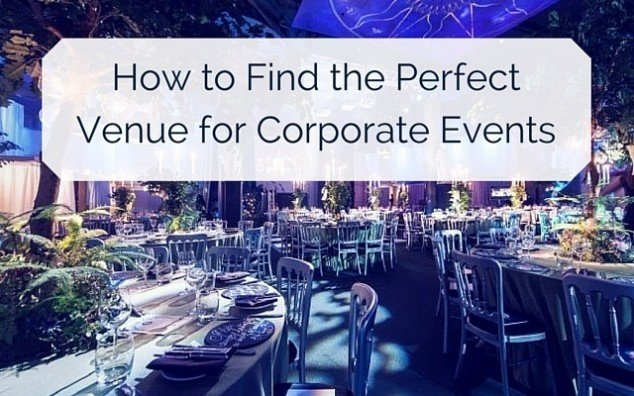 find Perfect Venue for Corporate Event