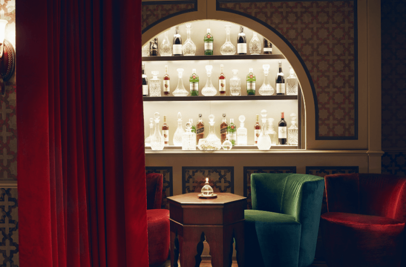 Victorian Bath House - gin bars
