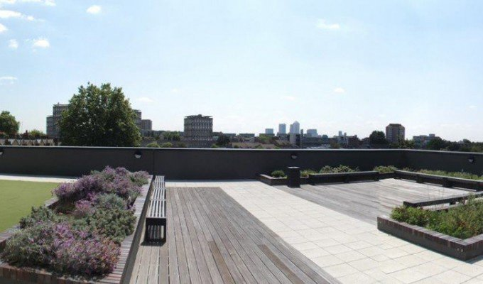 a roof with a view venue