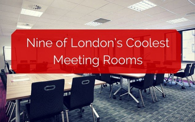 Nine of London's Coolest Meeting Rooms