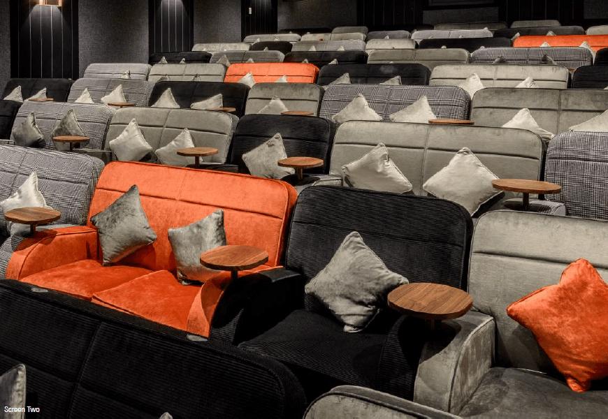 everyman canary wharf cinema luxury sofas and armchairs