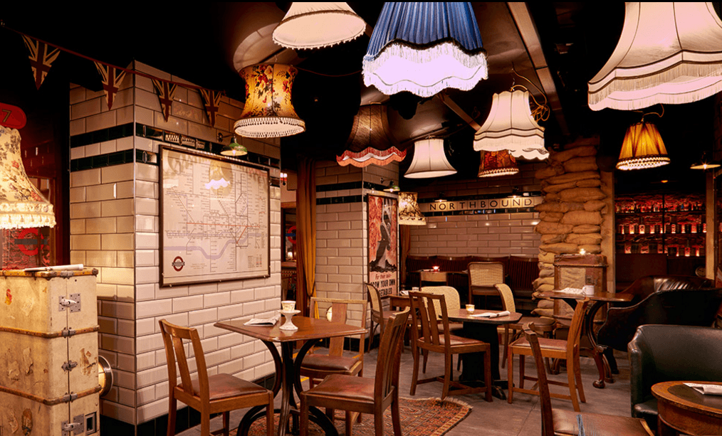 Cahoots - basement bars