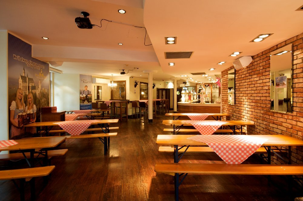 Bavarian beerhouse london venue venue hire for Classic house old street london