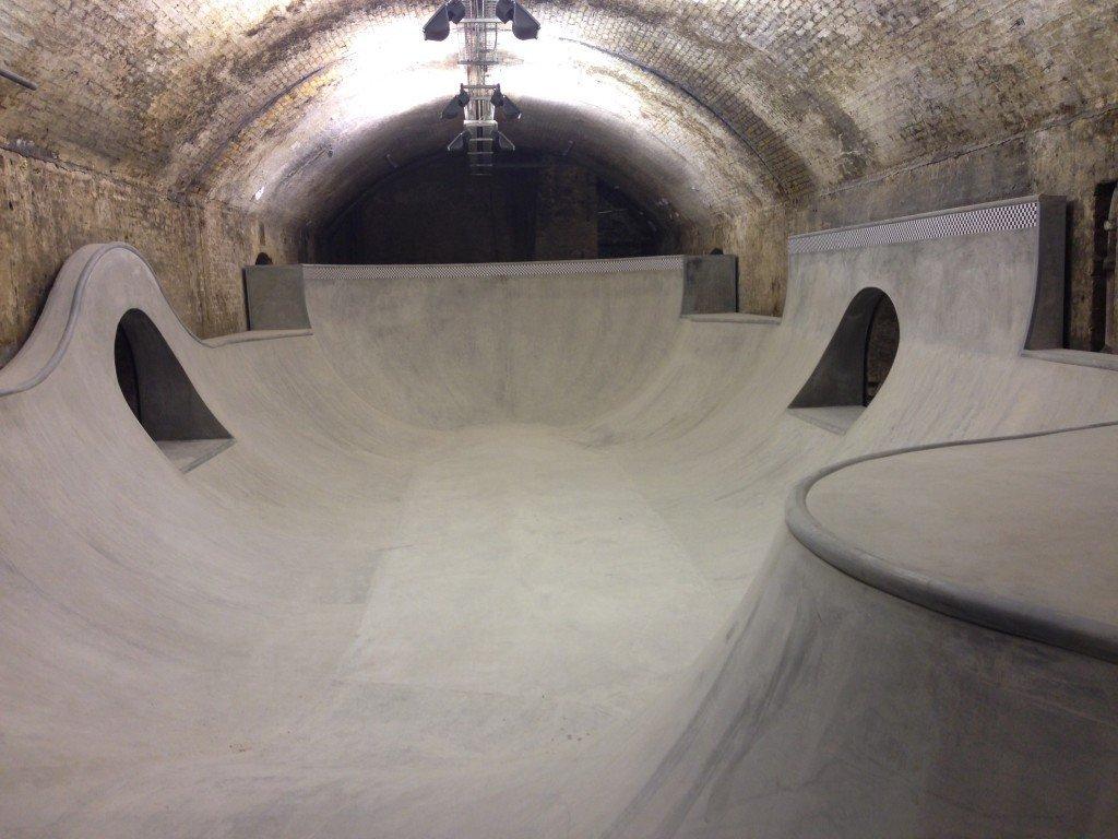 tunnel skate park