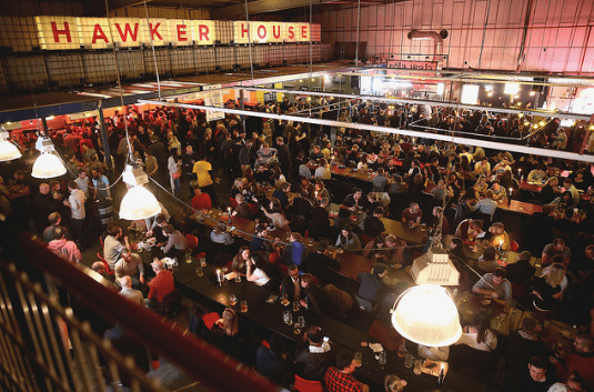 hawker hose big venue in london