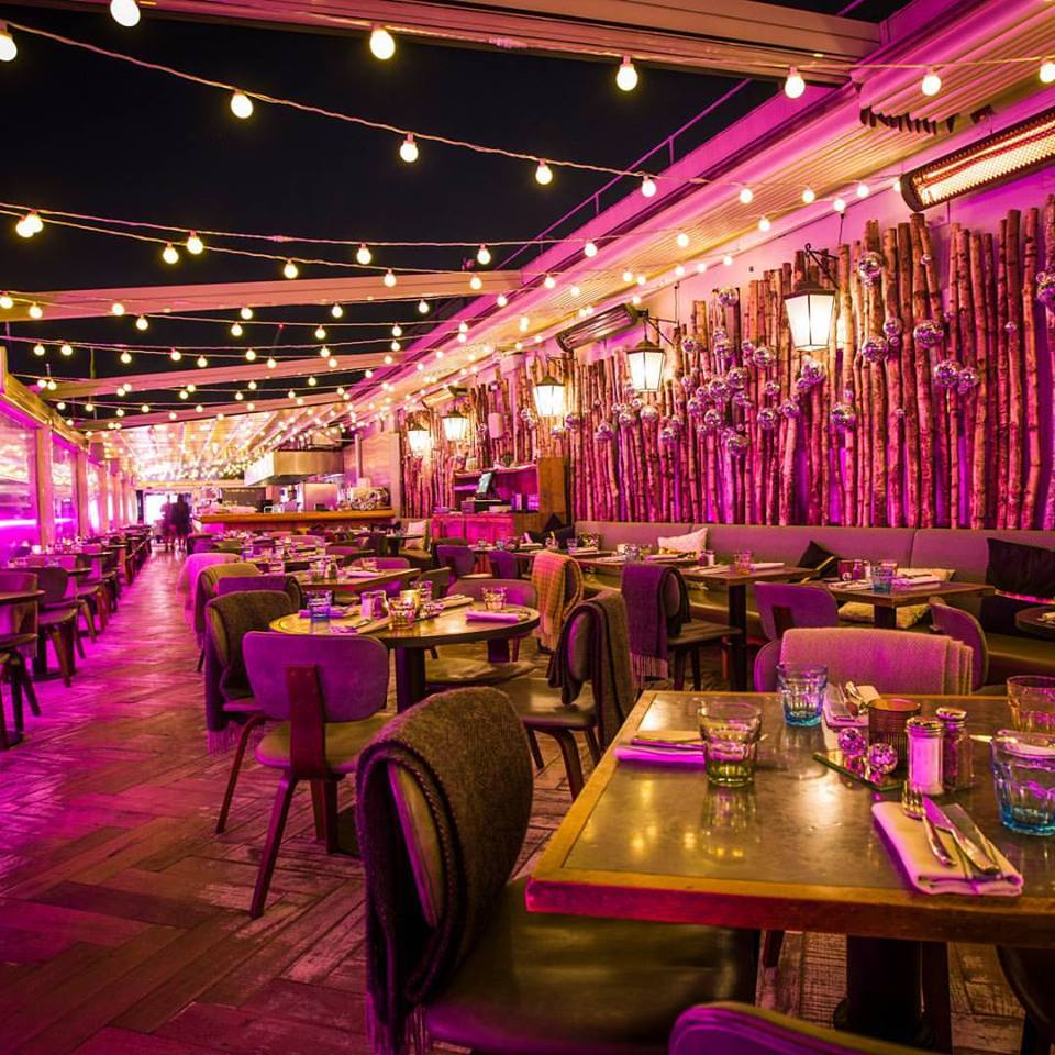 london terraces to hire