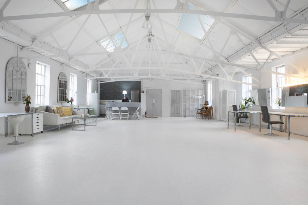white loft lumiere london venue hire