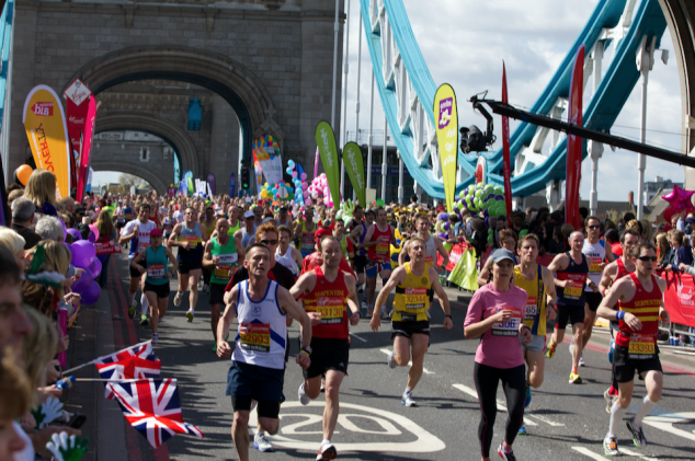 london marathon pubs