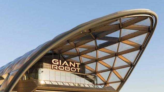 giant robot street feast