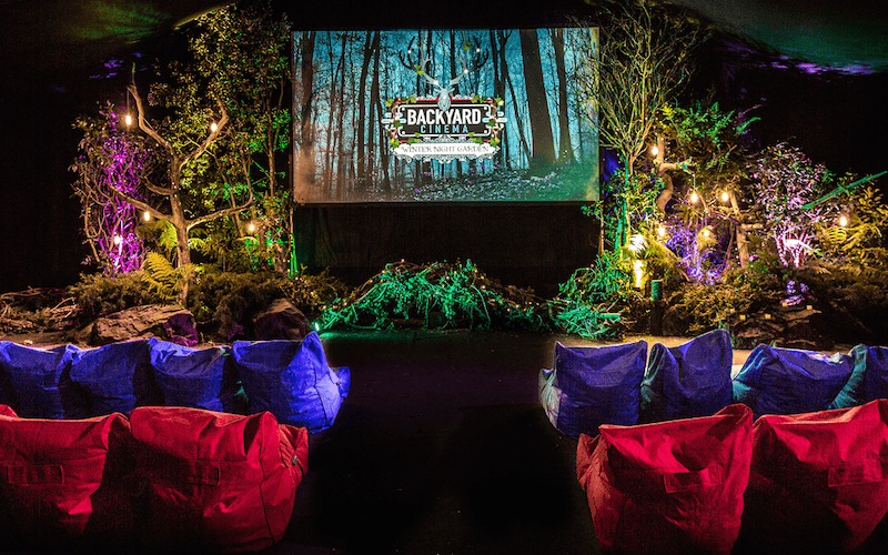 backyard cinema - cinema hire london